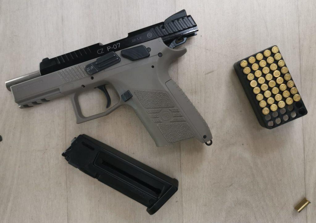 pistolet 25m standard
