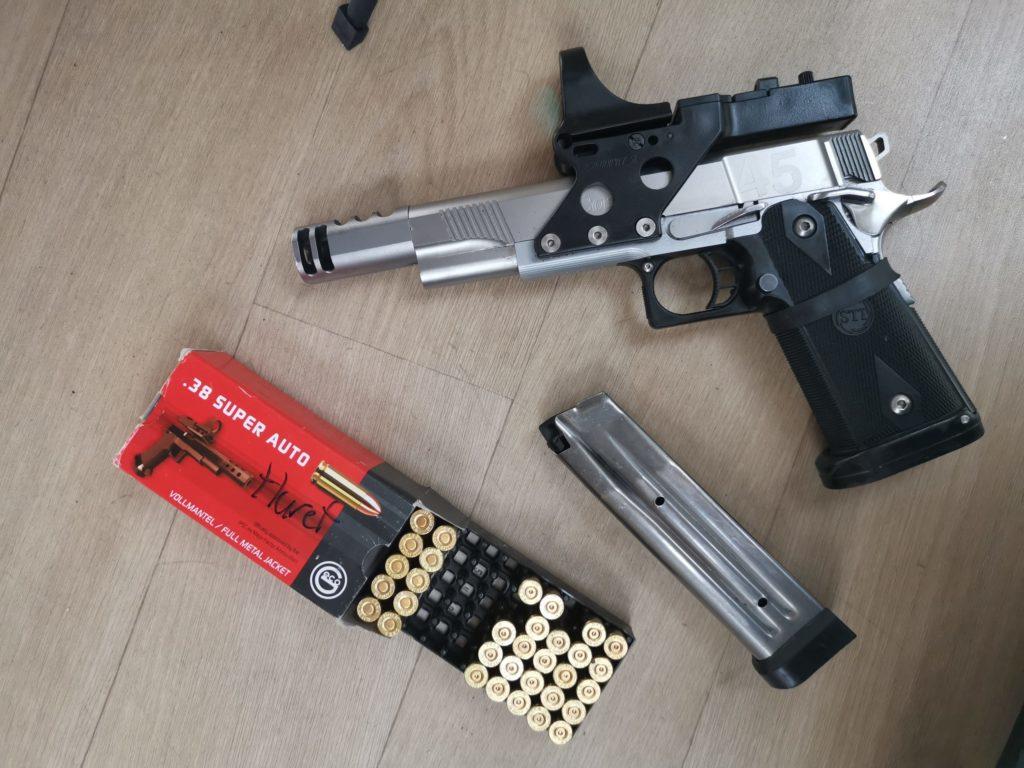 pistolet 25m